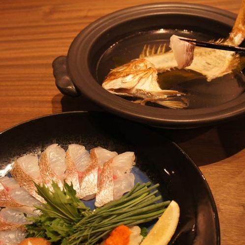 熊本県天草から仕入れる新鮮な「鯛」をしゃぶしゃぶで!