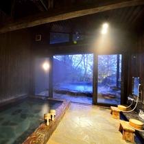 *【大浴場・女湯】とろとろの泉質が自慢の温泉。大人数で一緒にご利用の場合はこちらをどうぞ!