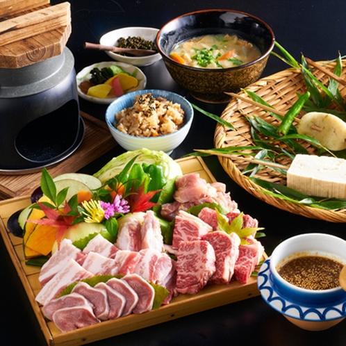 お肉・田楽・地鶏釜飯付きお得!5400円コース(一例)