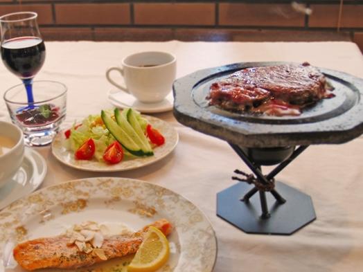 【山梨地元産グラスワイン付き】肉にはやっぱりワインでしょ。牛ヒレのスペシャルコースプラン