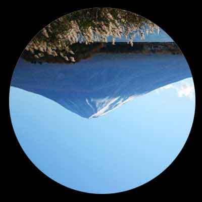 クラフトの望遠鏡は上下さかさまに見える!?