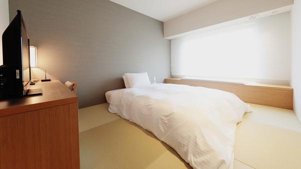 【禁煙】和室ダブル/シモンズベッド・Wifi完備21平米