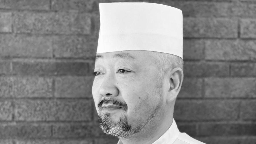 *料理長/東海林治 四国宇和島出身。群馬の地場食肉を巧みに使用し一本筋の通った和食料理を提供。