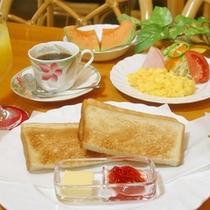 *朝食例:洋食
