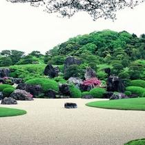 【足立美術館】当館より徒歩約10分!四季折々・世界一の日本庭園をご堪能下さい。
