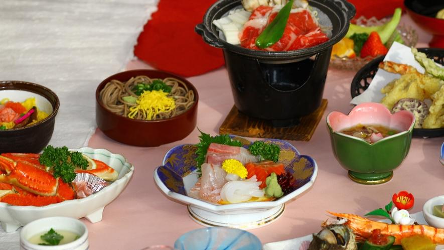 *【豪華プレミア会席コース】料理内容の質がアップ!!お腹いっぱい、安来の味を楽しみたい方に…★