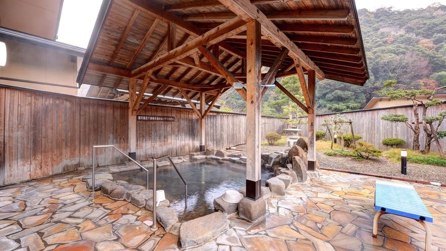 *【ふれあいプラザ露天風呂】景色を眺めながら良湯をお楽しみください。
