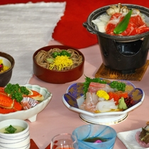 【豪華プレミア会席コース】料理内容の質がアップ!!お腹いっぱい、安来の味を楽しみたい方に…★