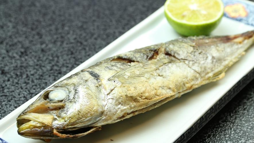 ★旬の魚を塩焼きで頂いてください☆