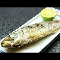 旬の魚を塩焼きで頂いてください☆