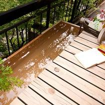 本館濡れ縁と足湯付「椿二」