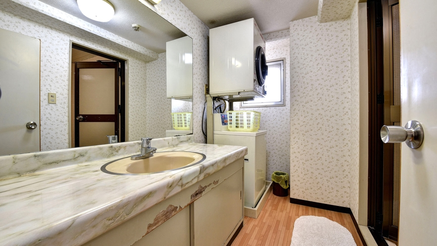 *客室一例/洗濯&乾燥機、広い洗面所が付いたお部屋タイプもございます。