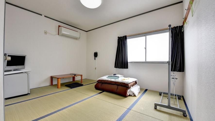 *客室一例/一人旅にもお気軽にご利用ください。人数に合わせたお部屋をご用意します。