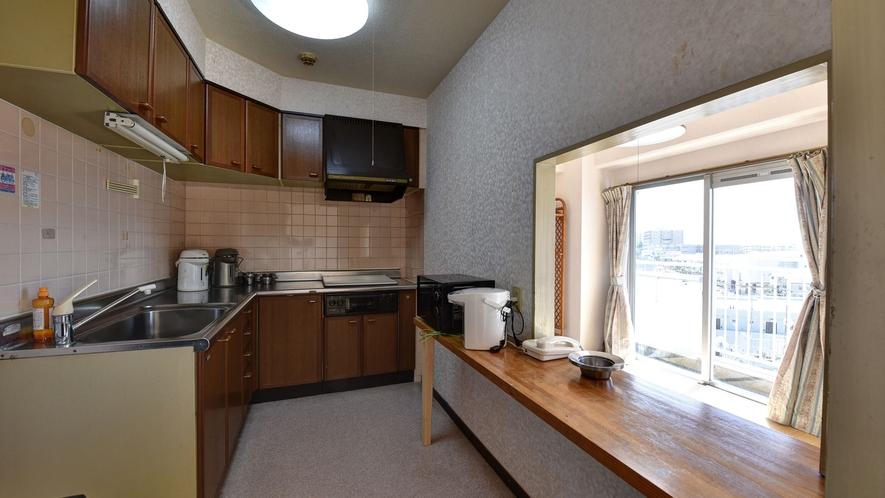 *客室一例/マンションタイプのお部屋はキッチン、電子レンジ付きで便利。