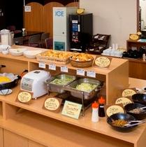 朝食コーナー
