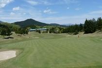ゴルフ場から見た外観①