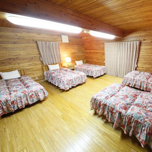 コテージスタンダード 寝室