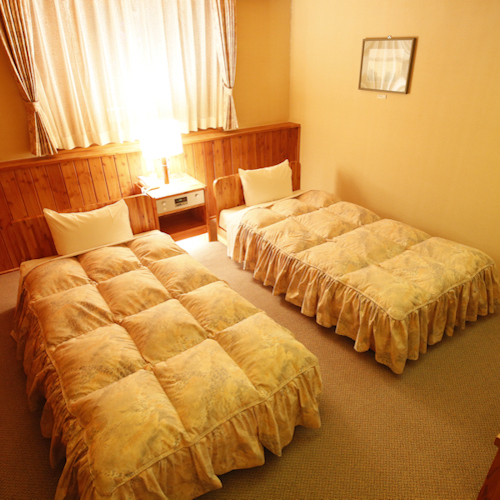 メゾネット・ツインルームの寝室