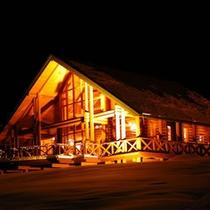 冬のレストラン