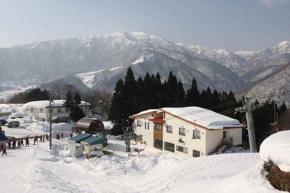 【お先でスノ。】スキー満喫&『カニすき鍋』プラン 現金特価