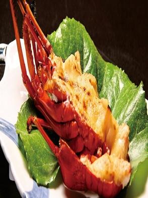 【贅沢会席】伊勢海老1本・アワビ・サザエ・地魚付刺身盛合せ+海老・アワビ・金目・肉料理付