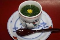 春菊の茶碗蒸し