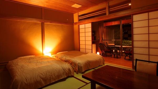 d.【特別室和室】露天付◆シモンズ製ベッド[バス・トイレ付]
