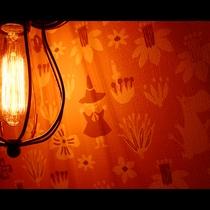 *ファミリールーム<ロフト・シャワールーム付>夜は天井に星の世界が…北欧風のオシャレで楽しいお部屋