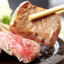*牛プレート焼き