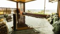 ■男性大浴場 内湯(温度:41℃)