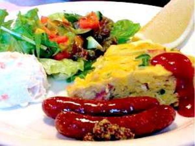 美味しいと人気の朝食。お料理大好きママが朝から腕を振るいます!