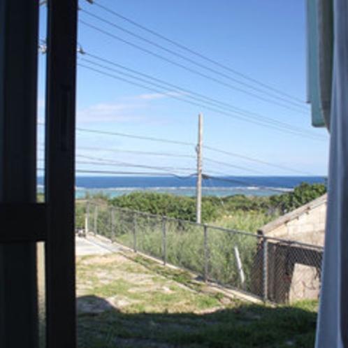 洋間から見た吉原の海