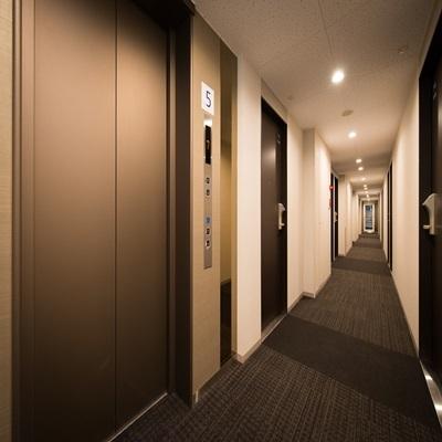 【廊下】防音に拘ったお部屋をどうぞ!