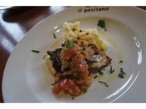 2016年2月夕食コース料理 メイン魚料理