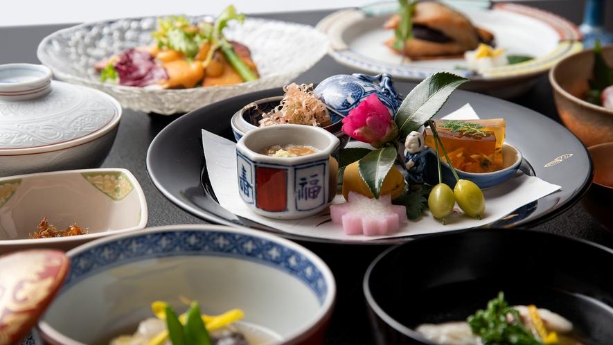 *【懐石料理】歴史が育んだ伝統の味を、お部屋でごゆっくりとお楽しみください。