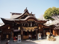 櫛田神社 徒歩1分