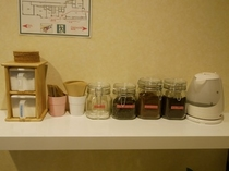 【コーヒー、紅茶、調味料等】無料でご賞味ください。