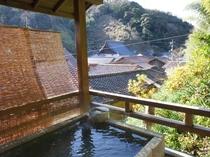 【甍の湯】露天風呂