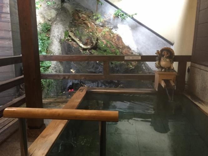 【森の湯】露天風呂