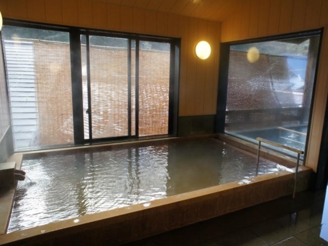 【甍の湯】源泉かけ流しの内風呂