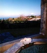お風呂からの眺め