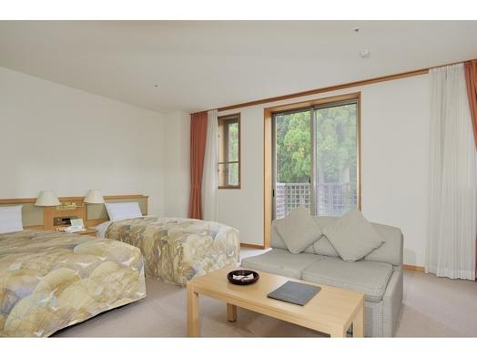 らくらく洋室(2ベッドルーム)プラン ◆山側のお部屋(バストイレ付)