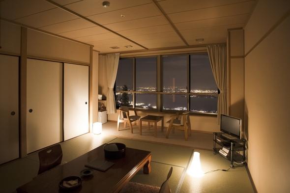 ★夜景がキレイ!★ びわ湖一望のお部屋