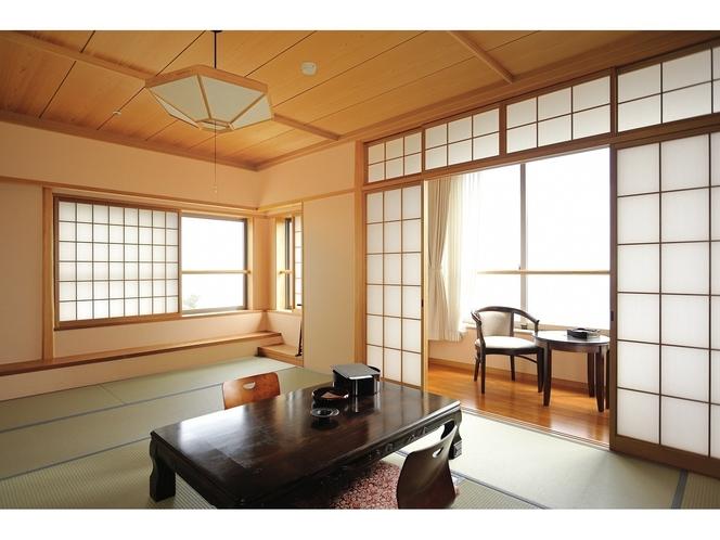 特別和室(最上階角部屋)バストイレ付【禁煙】