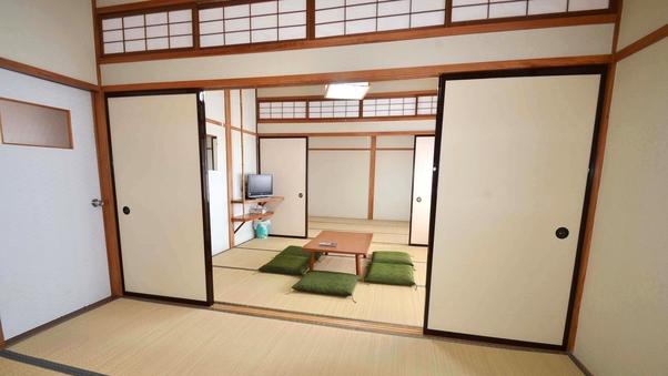 【2階】二間続き部屋(トイレ無し・禁煙)