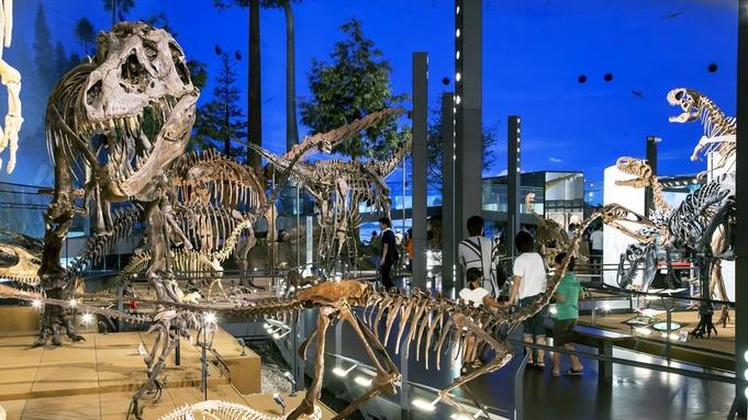 【恐竜博物館入場券付】迫力満点の大型展示!恐竜の世界へタイムスリップ!※入館予約は別途必要※