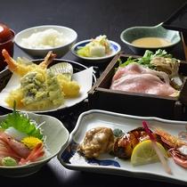 【夕食一例】福井出身の板場が作る本格福井の味