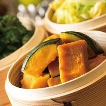 蒸し野菜 十勝風