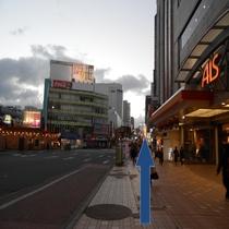 ホテルまでの道順④