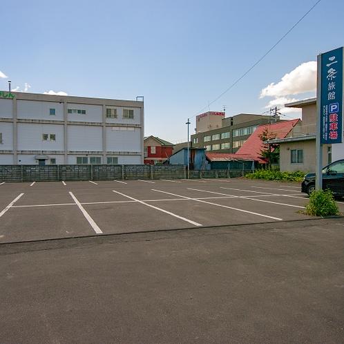 【駐車場】普通車24台及び大型車も停められます。